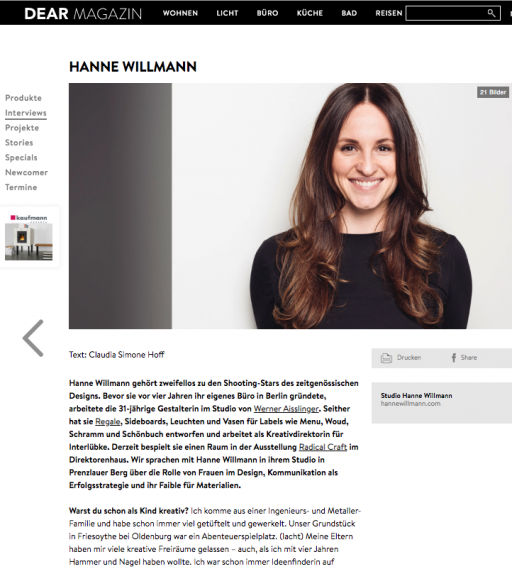 Studio Hanne Willmann Press